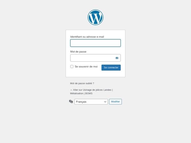 B.G.M.S Sarl - (64) - M.G-Précision - Usinag - Hydraulique