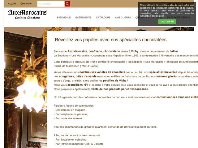 CONFISERIE-CHOCOLATERIE AUX MAROCAINS