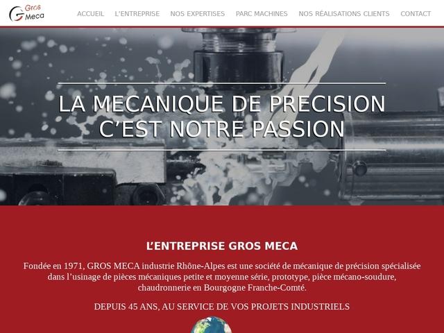 Gros Meca Industrie Sarl - (39) -M.G-Précis -Sous-Traitance