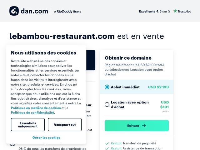 Restaurant Le BamBou- au Morne-rouge en Martinique- Fonds Marie-Reine,