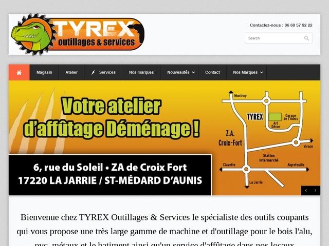Tyrex Sarl - Outill/ Serv - (17) - Affûtage Outils-Lames-Scies