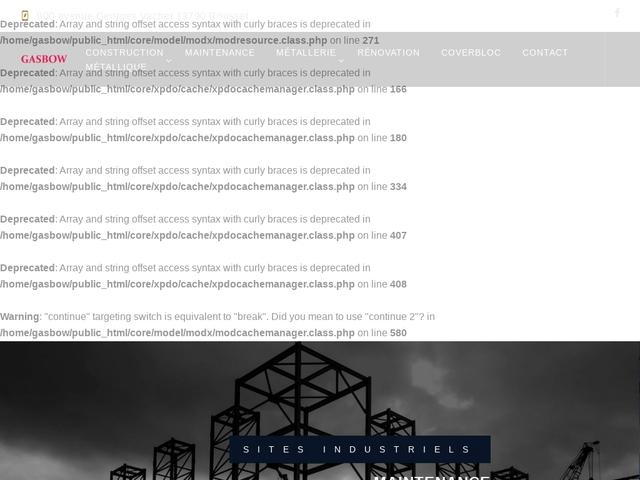 Gasbow Sarl - (13) - Construction-Structure  Métallique
