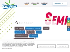 La commune de Trappes en Yvelines