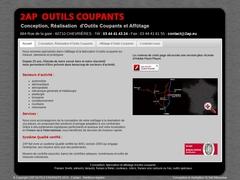 2.A.P-Outils Coupants Sarl - (60) -Concept-Fabric-Affûtage.