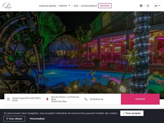 restaurant Restaurant Le Pitaya Martinique