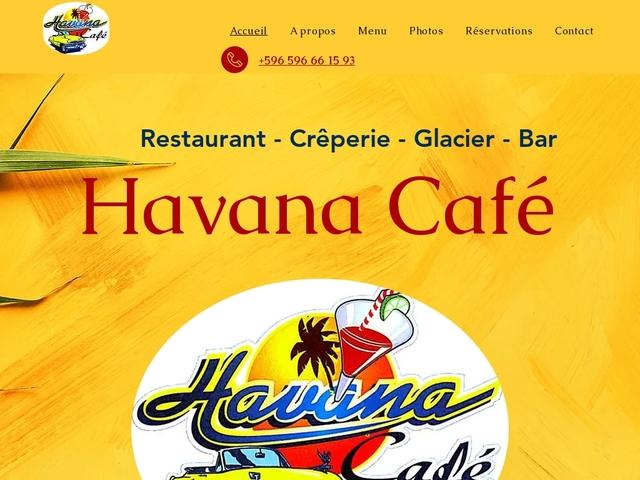 restaurant Havana Café -Trois-Îlets Martinique