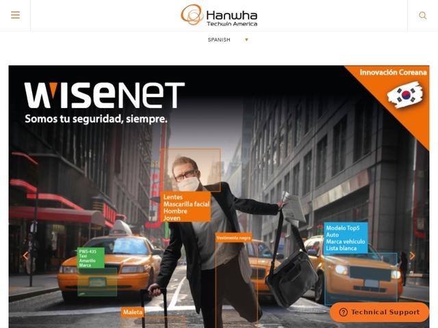 Hanwha Techwin — Security Cameras & Surveillance Solutions