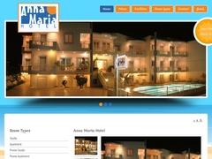 Anna Maria Apartments - Hôtel 1 * - Platanias - La Canée
