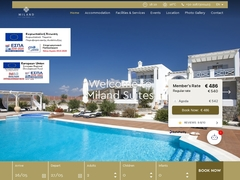 Miland Suites - Ξενοδοχείο 4 Κλειδιών - Καναβά - Μήλος - Κυκλάδες