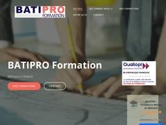 BATIPRO - Formations métiers du bâtiment