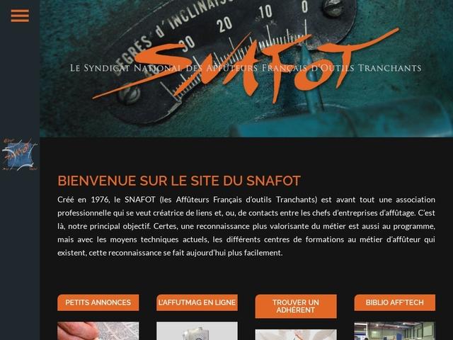 S.N.A.F.O.T - (33) Syndicat des Affûteurs Français.