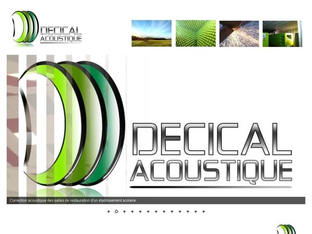 Décical-Acoustique Sarl - (61) -B.E Acoustic-Phonique-Métal