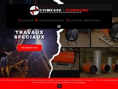 Comesse Soudure sas - (88) - Chaudronnerie Industrielle.