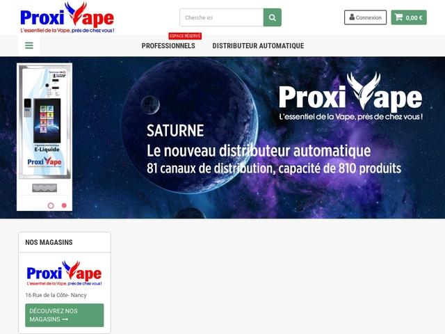 vente cigarettes Electronique Proxivape