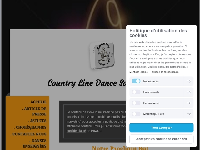 Site de country-saintlys !