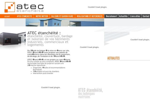 Atec-Etancheite sas - (01) - B.E Tech - Couverture - Bardage.
