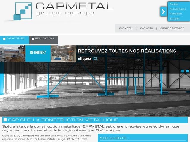 Capmetal sas - (69)# - Construction Métallique - Bardage
