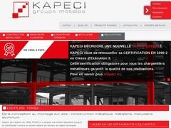 Kapeci sas - (01)# - Construction Métallique - Métallerie.