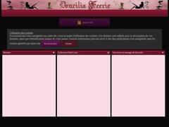 Doucilia Féérie, la boutique