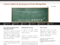 cours maths montpellier