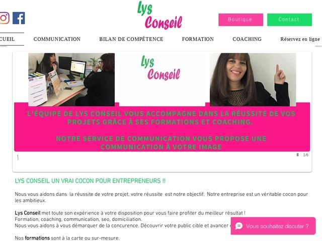 DEUIL LA BARRE - LYS CONSEIL : formation, coaching, services, DOM