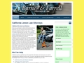 California Lemon Law Lawyers