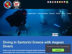 Plongée Aegean Divers - Santorin
