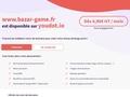Bazar Game, petites annonces de jeux vidéo rétro