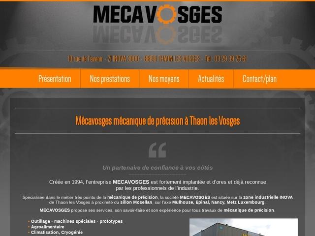 Mécavosges Sarl - (88) - Mécanique de Précision