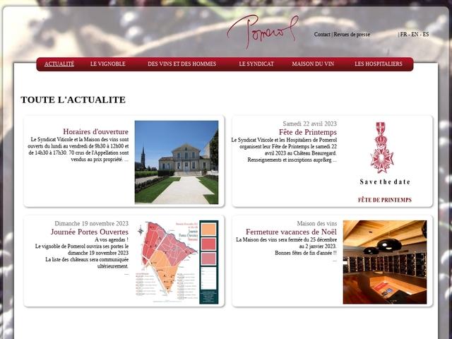 Maison des vins de Pomerol