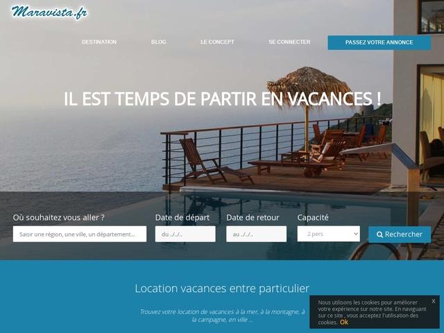 Location vacances : annonces locations vacances  et hiver - Maravista