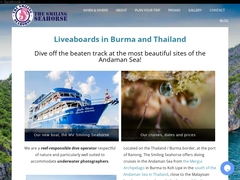 The Smiling Seahorse - Diving in Myanmar and Thailand