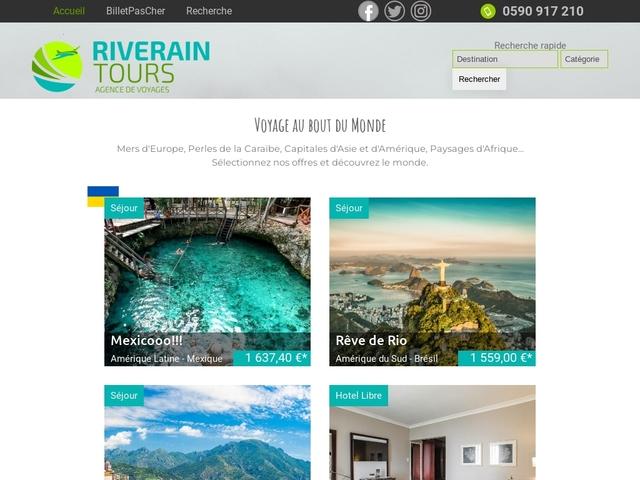 Rivtours.com, agence de voyages Guadeloupe