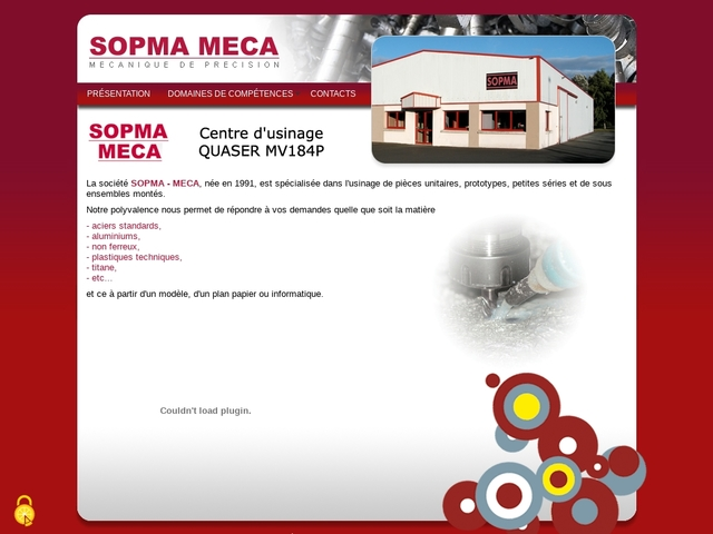 Sopma-Meca Eurl - (22) - Usinage - Rectif - Maintenance