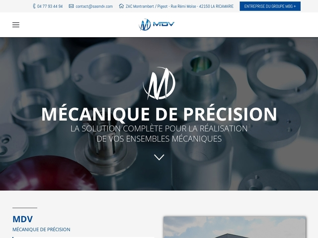 M.D.V sas - (42) - M.G-Précis - Montages-Assemblages
