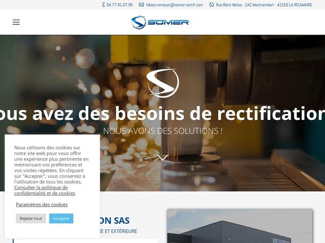 S.O.M.E.R Rectification sas - (42) - M.G-Précis - Rectification