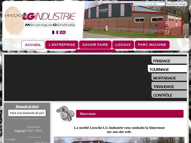 Lecoche L.G Industrie Sarl - (08) - M.G-Précis - Usinage CN