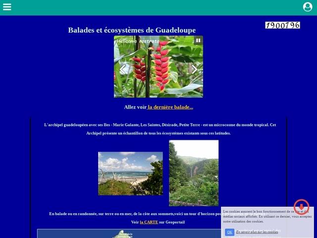 Sites de Guadeloupe, balades et écosystème