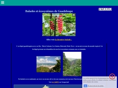 Sites de Guadeloupe, balades et écosysteme