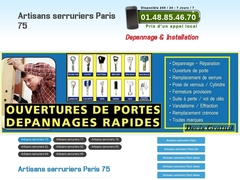 Serrurier Paris et Ile de France tel: 0800 801 138 Serrurerie