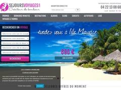 Séjours Voyages :  agence de voyage spécialisée en séjours et circuits