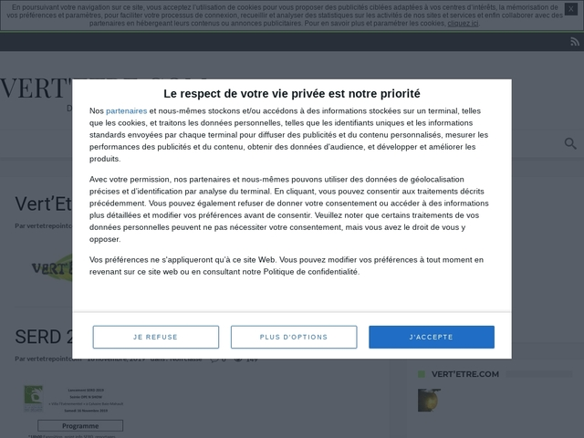 Vert 'Etre.com