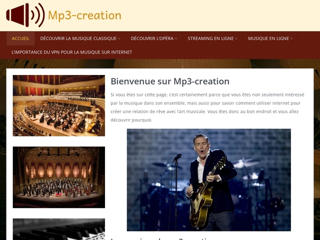 MP3-creation | Thierry Cassagneau compositeur