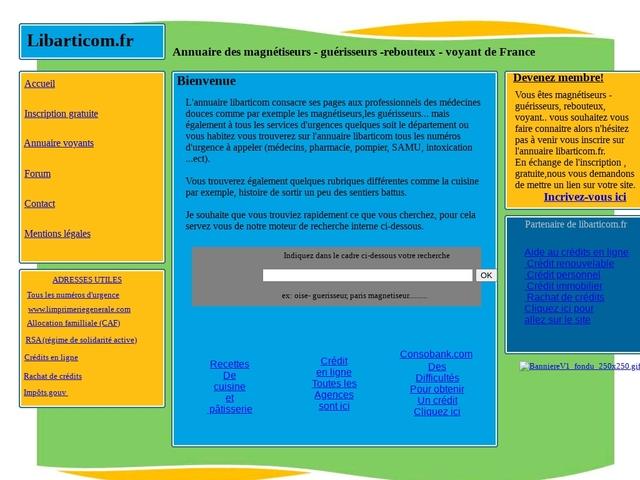 Annuaire gratuit - libarticom.fr
