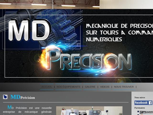 M.D-Precision Sarl - (69) - Usinage CNC - Assemblages.