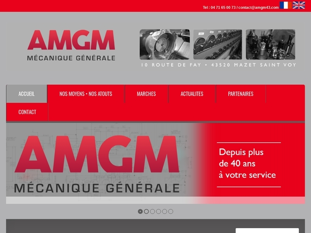 A.M.G.M sas - (43) - Sous-Traitance Mécanique Générale