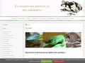 La passion des reptiles et des amphibiens
