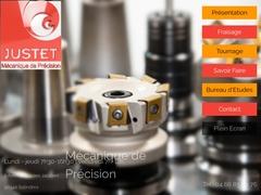 Justet Sarl - (30) -B-E Tech -Usinage C.N.C -Mach spéciales