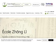 Ecole de Médecine Traditionnelle Chinoise Zhong Li