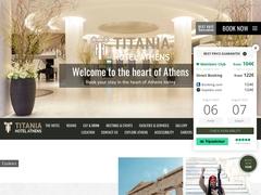 Titania Hôtel - Centre Ville d'Athènes - Place Omonia -